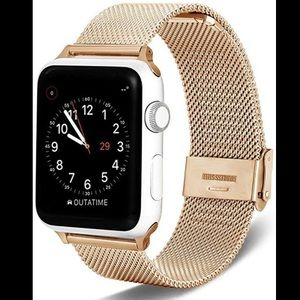 Accessories - Gold magnetic apple watch band